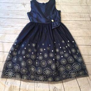 Jayne Copeland Navy Dress